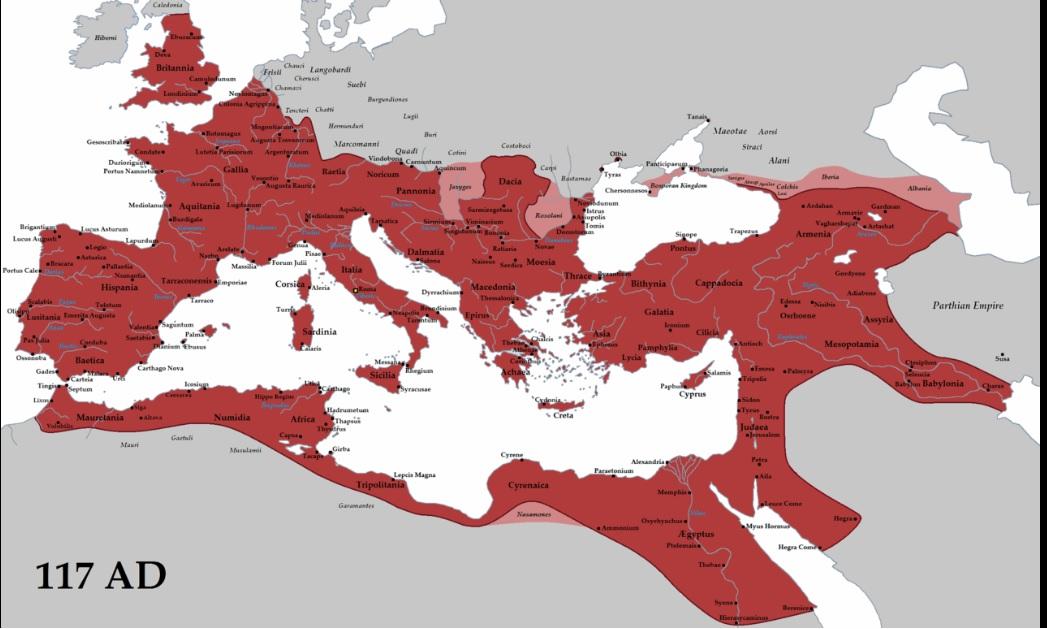 roma en el 117 a c